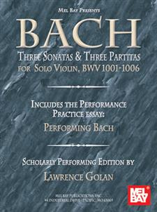 Bach: Three Sonatas and Three Partitas for Solo Violin