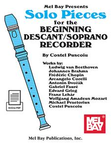 Solo Pieces for the Beginning Descant/Soprano Recorder