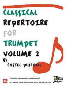 Classical Repertoire for Trumpet, Volume 2