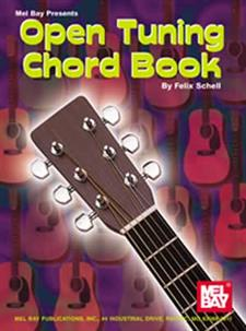 Open Tuning Chord Book for Guitar