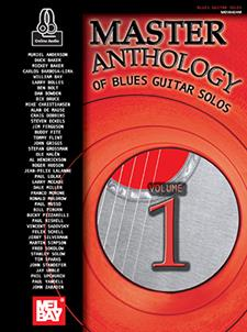 Master Anthology of Blues Guitar Solos, Volume One