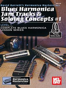 Blues Harmonica Jam Tracks & Soloing Concepts #1