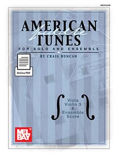 American Fiddle Tunes for Solo & Ensemble-Viola,Score Violin 3