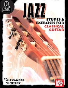 Jazz Etudes and Exercises for Classical Guitar