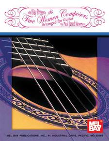 Five Women Composers Arranged for Guitar