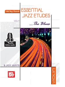 Essential Jazz Etudes...The Blues - Violin