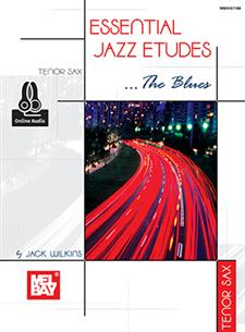 Essential Jazz Etudes..The Blues - Tenor Sax