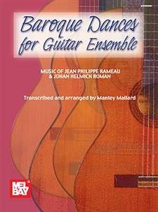 Baroque Dances for Guitar Ensemble