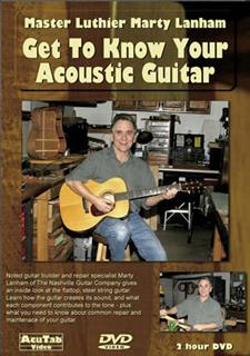 Marty Lanham - Get to Know Your Acoustic Guitar - Acutab
