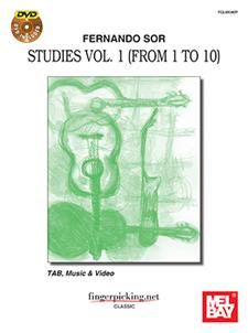 Fernando Sor: Studies Vol. 1 (from 1 to 10)