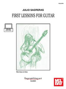 Julio Sagreras First Lessons for Guitar