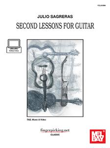 Julio Sagreras Second Lessons for Guitar