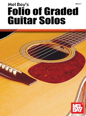 Folio of Graded Guitar Solos eBook - Mel Bay Publications ...