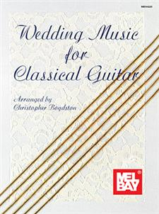 Wedding Music For Classical Guitar Book