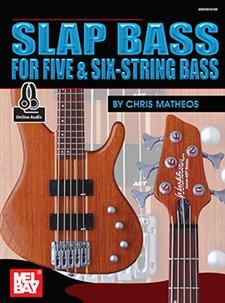 slap bass for five six string bass book online audio mel bay publications inc mel bay. Black Bedroom Furniture Sets. Home Design Ideas