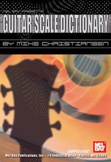Guitar Scale Dictionary Qwikguide eBook - Mel Bay ...